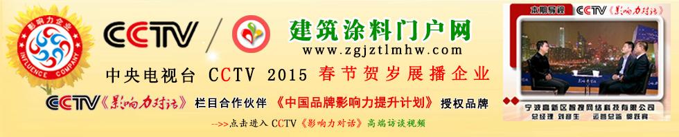 中国建筑涂料门户网CCTV《影响力对话》栏目高端访谈